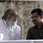 Viswanathan and Sujit Kumar Paul at the Enlightenment seminar, Feb. 2012