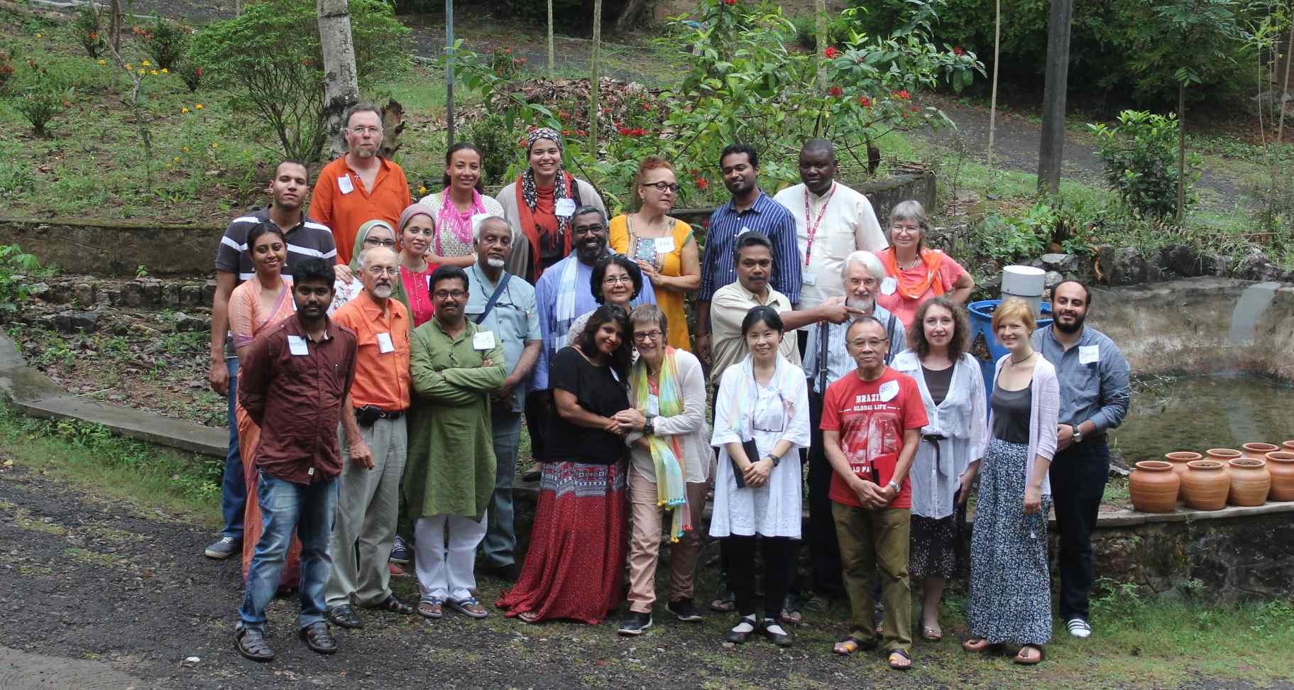 Deltagerne i IC-mødet 2016 i Kerala